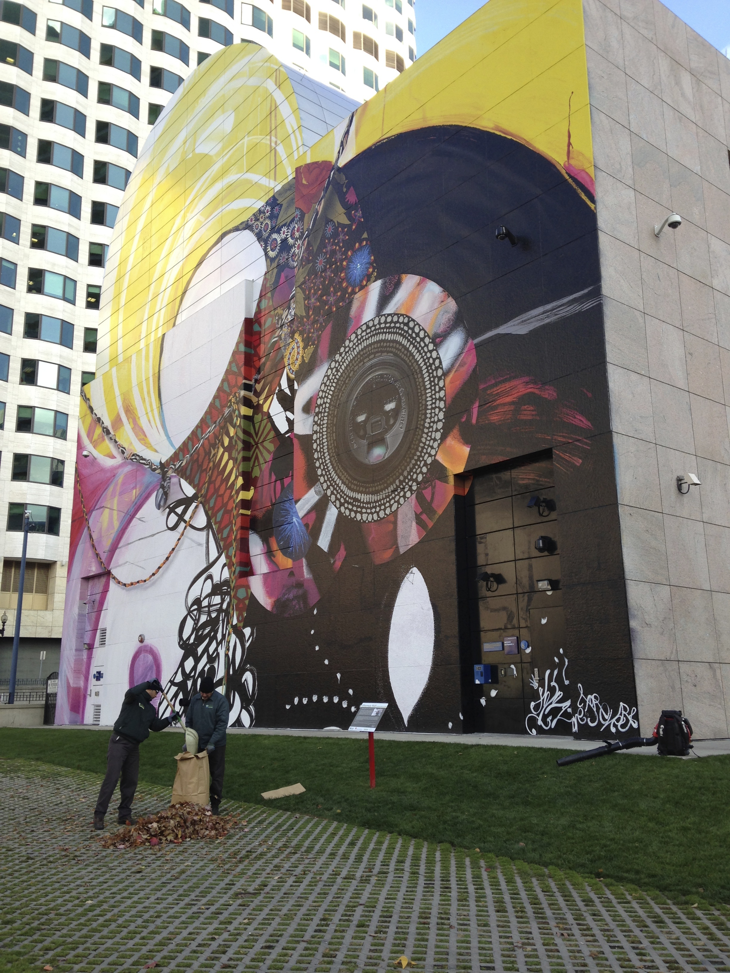 Nilsen landscape design the rose kennedy greenway for Dewey square mural
