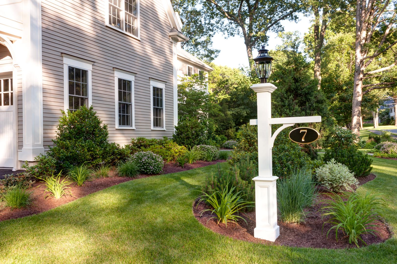 Landscape Lighting Garden Post : Nilsen landscape design ? lighting line